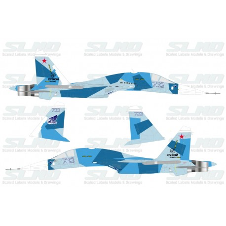 "Su-33UBM Blue 733 ""Fullanker"" (What If Build)"