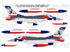 F-16A - 182ndFS 149th FW - Texas ANG (2012) - 800149 (800576)