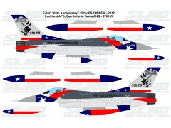 "F-16C ""65th Anniversary"" - 182ndFS 149th FW - Texas ANG (2012) - 870255"
