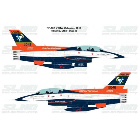 F-16D Vista - Calspan (2014) - 860048
