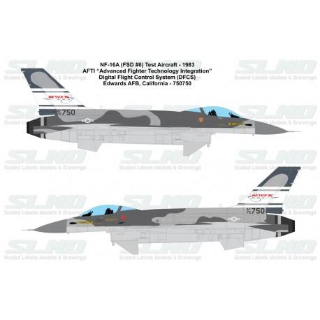 F-16A AFTI Camo Scheme 750750