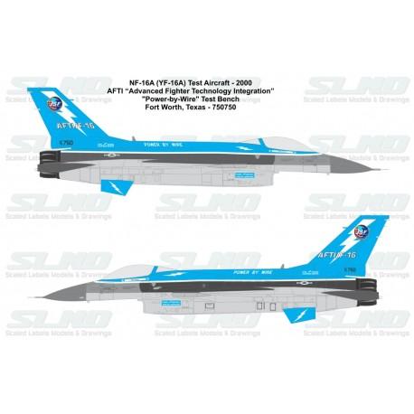 F-16A AFTI Blue Scheme 750750