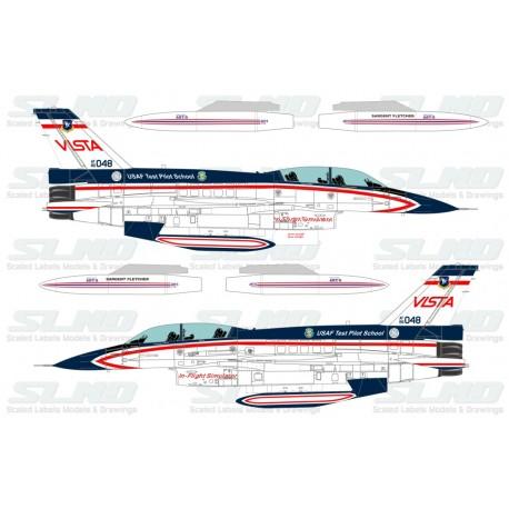 F-16D Vista 860048