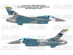 F-16C Block25F - 57th Adversary Tactics Group 64th Aggressor Squadron - Nellis AFB - 851418