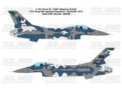 F-16C Block32D - USAF Weapon School - 57th Wing 64th Aggressor Squadron - Nellis AFB - 860269