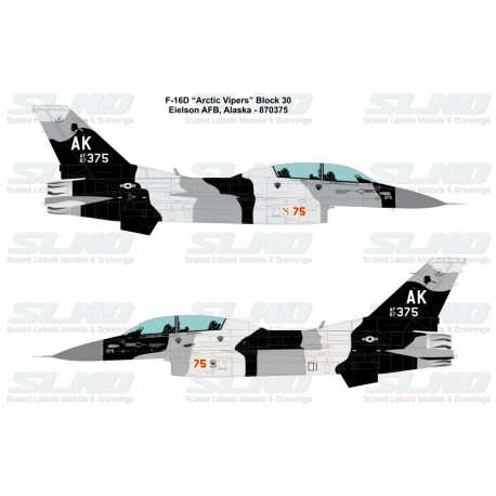 F-16D Block30 Arctic Viper 870375