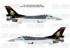 """F-16C Block40F """"Solo Türk No:2"""" 900001"""