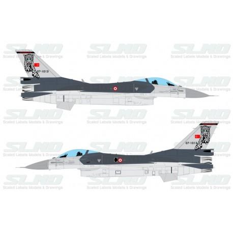 F-16C Block50 - TuAF - 181th Squadron Pars/Leopards - 071013