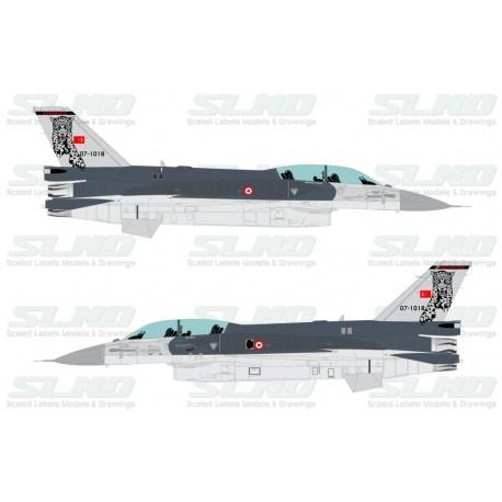 F-16D Block50 - TuAF - 181th Squadron Pars/Leopards - 071018
