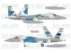 F-15C Aggressors 780509 Splintered Camo - 2012