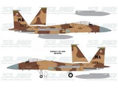 F-15C Aggressors 820028 Brown Camo - 2008