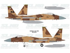 F-15C Aggressors 820028 Brown Camo - 2009