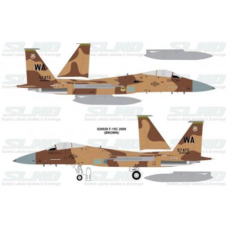 F-15C Aggressors 820028 Brown Camo - 2009