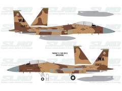 F-15D Aggressors 780567 Brown Camo - 2012