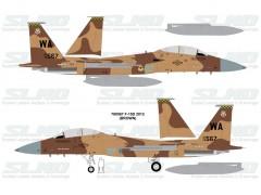 F-15D Aggressors 780567 Brown Camo - 2012