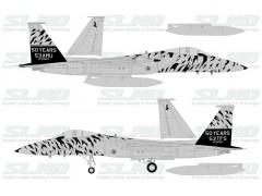 """F-15C """"Tigermeet 91"""" 840021 - 2012"""
