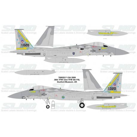 F-15A 760020 5th FIS - 2009