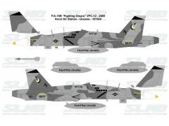 """F/A-18B """"Fighting Omars"""" VFC-12 - 2005, NAS Oceana - 161924"""