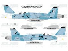 """F/A-18A """"Fighting Omars"""" VFC-12 - 2005, NAS Oceana - 162464"""