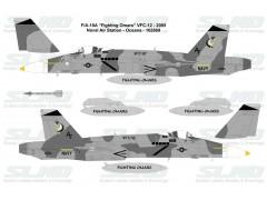 """F/A-18A """"Fighting Omars"""" VFC-12 - 2005, NAS Oceana - 162869"""