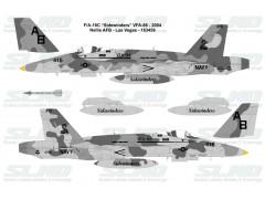 """F/A-18C """"Sidewinders"""" VFA-86 - 2004, Nellis AFB - 163459"""