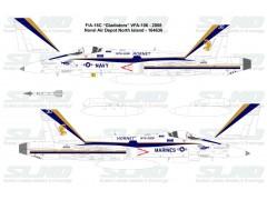"F/A-18C ""Gladiators"" VFA-106 - 2008, Naval Air Depot, North Island - 164630"