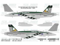 "F/A-18E ""Dambusters"" VFA-195 - 2011 USS George Washington - 166901"