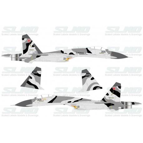 Su-27SMK No:305