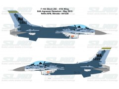 F-16C Block25C - 57th Wing 64th Aggressor Squadron - Nellis AFB - 841220