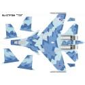 """Su-27FSM Blue 731 """"Flankerstein"""" (What If Build)"""