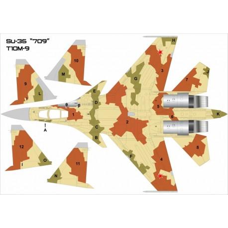 Su-35BM No:709 (T-10M-9)